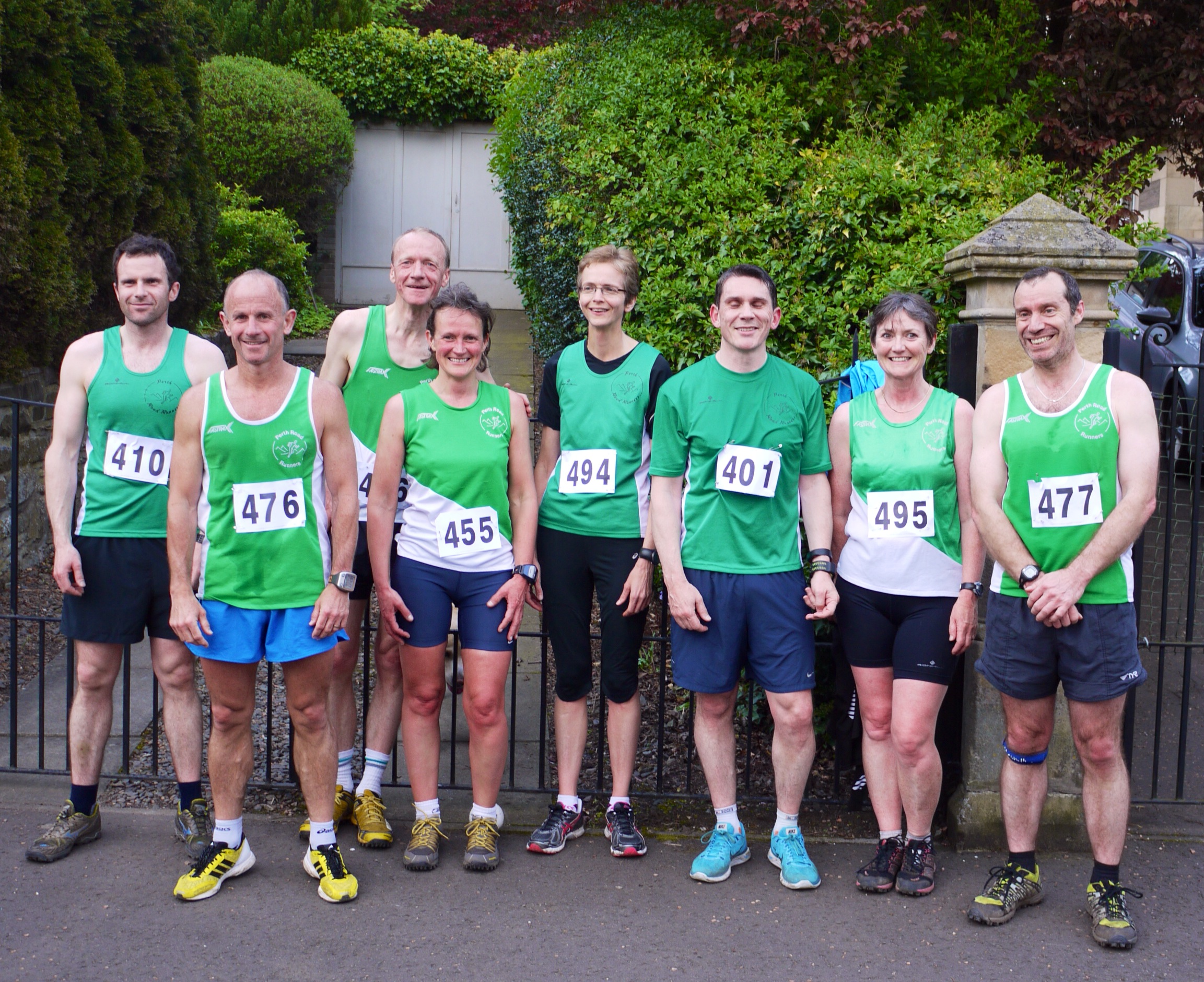 Kinnoull Hill Race May 2014