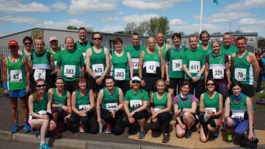 Loch Leven runners