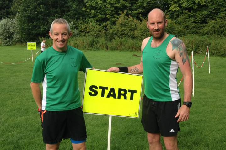 Stuart and Stuart - parkrun tourists