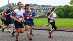 Action from Day 1 of the Edinburgh Marathon Festival, in . Photo: Paul J Roberts / RobertsSports Photo. All Rights Reserved