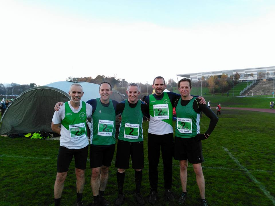 Alloa XC mens team